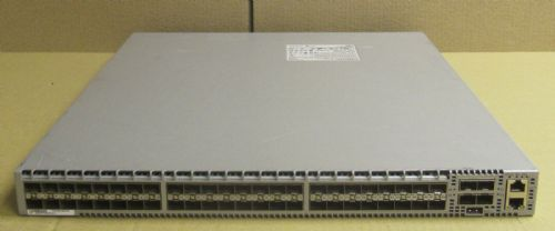 Arista DCS-7050S-52 Switch 48x 10G SFP+ 4x Fans 2x R to F Power Supplies